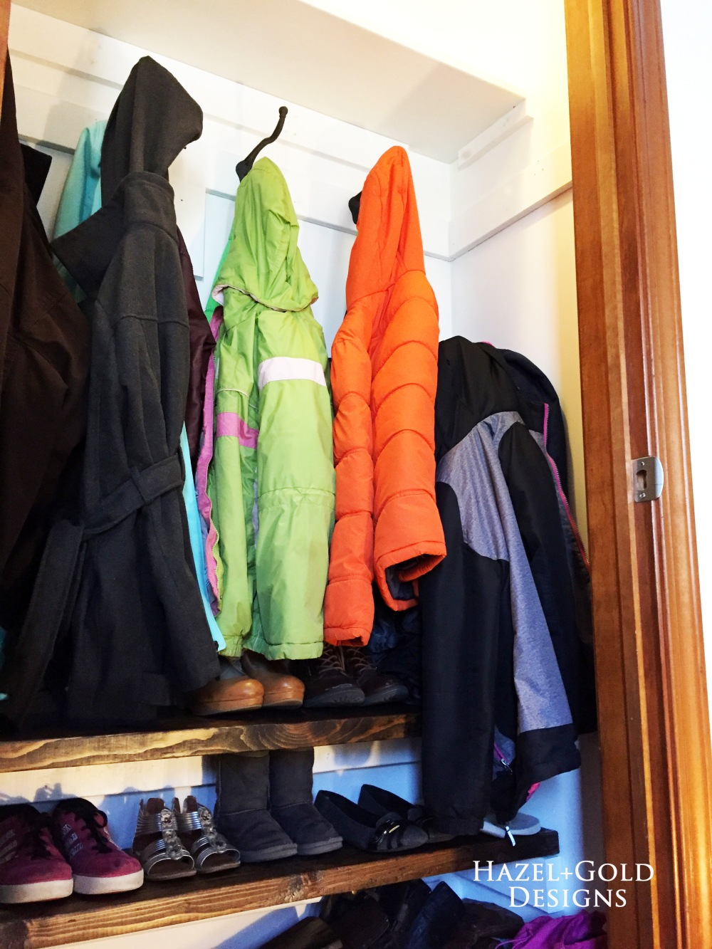 Closet Reno - Completely finished