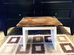 wood designs with a router step stool 6