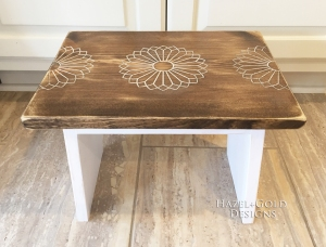 wood designs with a router step stool 7